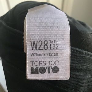 Topshop Moto Jeans Size 28 - Great Condition!